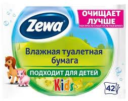 <b>Влажная туалетная бумага</b> Zewa Kids — купить по выгодной ...