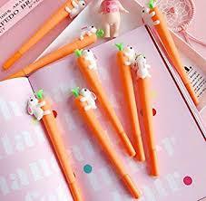 Errilol 12 Pack Newest Cute Kawaii Rabbit Carrot ... - Amazon.com