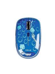 <b>Мышь</b> E-<b>Blue</b> Monster Babe Беспроводная, синяя, <b>Blue</b> Wave ...