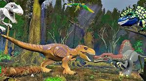 LEGO <b>Jurassic World</b> в Джунглях.<b>Игры</b> и мультики про Динозавров ...