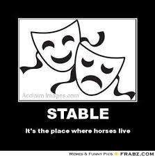 STABLE... - Meme Generator Posterizer via Relatably.com