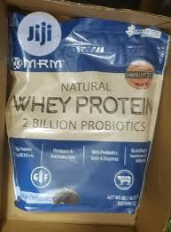 Mrm <b>Natural Whey Protein</b> (<b>2</b> Billion Probiotics) Dutch Chocolate 5 Lbs