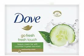 Dove Go Fresh Touch Beauty Cream <b>Bar</b> With Cucumber & Green ...