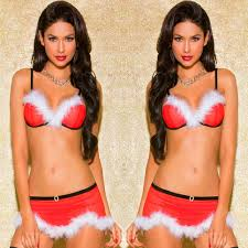 European Style Women <b>Sexy</b> Lingerie <b>Christmas</b> Santa Lingerie ...