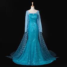 Elsa <b>Costume</b> Adult <b>Princess</b> Elsa <b>Dress Cosplay</b> Halloween ...