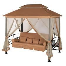 <b>Беседка</b>-<b>качели Удачная Мебель</b> Пальмира Кофейная   www.gt-a ...