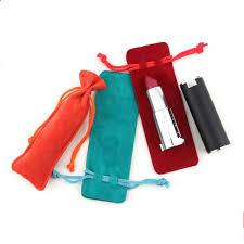 <b>Velvet</b> Bag <b>13x4</b>.<b>5cm Jewelry</b> Bag Favor Lipstick Essential Oil Bottle ...