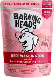 Корм консервированный <b>BARKING HEADS Вуф-строганов для</b> ...