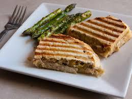 epic organic pesto veggie sandwich grilled asparagus
