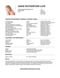 resume annie rutherford lutz resume