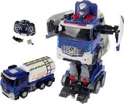<b>Робот</b>-<b>трансформер</b> на радиоуправлении <b>JIA QI</b> Truckbot, 2443254
