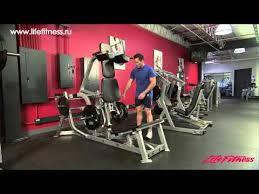 Вертикальные <b>приседания</b> Hammer Strength Plate-Loaded (PL ...