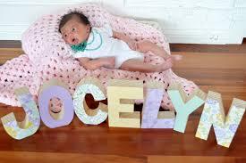 nursery letters wood decor baby