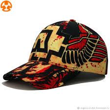 Bright baseball cap with Rammstein print – купить на Ярмарке ...