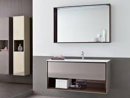 wood bathroom mirror digihome weathered: mirrors furniture luxury wall mounted bathroom mirror with modern