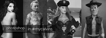 <b>Cartoon Characters</b> Model For The #MyCalvins Campaign