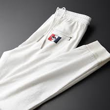 Minglu New <b>Summer Thin</b> White Casual Men's Pants Hight Quality ...