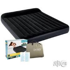 <b>Intex Full Pillow Rest</b> Classic Airbed Fiber-Tech With Pump in ...