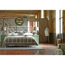 ART Furniture Epicenters Williamsburg White Metal Bed