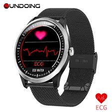 RUNDOING <b>N58 ECG</b> PPG <b>smart watch</b> with electrocardiograph <b>ecg</b> ...