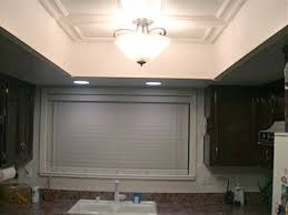 how to replace recessed fluorescent kitchen lighting ceiling lighting for kitchens