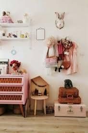 girls room playful bedroom furniture kids: milk chambre d enfant vintage rotin et rose middot bedroom for kidsgirl