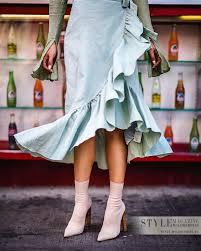 Носим стильно: <b>Ботильоны</b>-«носки» и ботфорты-«чулки ...