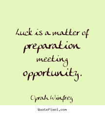 Luck Quotes & Sayings Images : Page 18