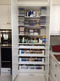 Kitchen Pantries Drawers Inside The Pantry Has Been Working Really Well Blum