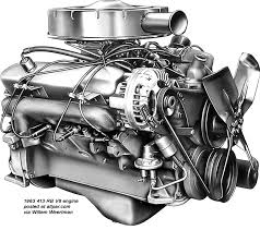 mopar chrysler dodge plymouth rb series v8 engines 383 413 the 383 cubic inch rb engine was only available in 1959 1960 on the us built chrysler windsor and saratoga thanks ian smale and bill watson one of