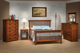 bedroom decor style oak furniture set