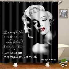 <b>Marilyn Monroe</b> Shower Curtain <b>1 pc</b> | 3d curtains, Curtains, Marilyn ...
