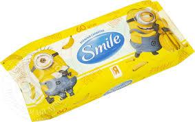 <b>Салфетки влажные</b> Smile <b>Minions</b> 60шт - купить недорого по ...