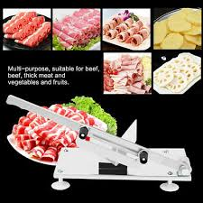 mutton roll slicer meat planer household manual cutting machine frozen cooked beef cut hot pot shop commercial