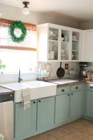 painted kitchen cabinets vintage cream:  chalk paint kitchen cabinets great home design ideas with chalk paint kitchen cabinets chalk painted kitchen