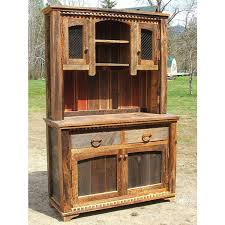rustic hutch dining room: country roads reclaimed wood buffet amp hutch