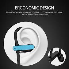 <b>Universal</b> Antidrop <b>Wired</b> Sport <b>Headphone</b> Ear Hook Stereo ...