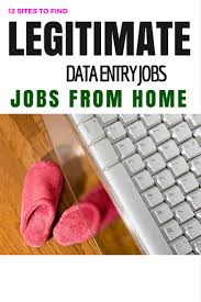 typing from home sites to legit data entry jobs how much you can make