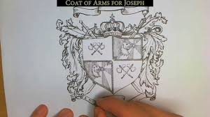 How to Draw Your Own <b>Coat of Arms</b> - YouTube