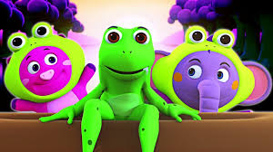 <b>Funny Frogs</b> Song | <b>3D</b> Original Song | Learn Numbers For Kids ...