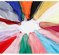 Multicolor <b>Silk Scarf</b> Female Spring Summer <b>Baitie Scarf Silk Scarf</b> ...