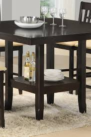 tabacon counter height dining table wine: tabacon counter height gathering table with wine rack rotmans pub table worcester boston ma providence ri and new england