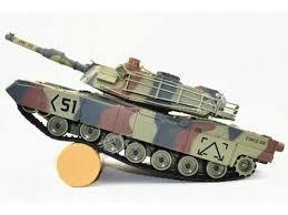 <b>Радиоуправляемый танк Huan Qi</b> Airsoft M1A2 Abrams масштаб 1 ...
