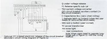 see product detailed description shanghai changjiu electrical optional dt 3 series electronic release for the second circuit breaker wiring diagram of figure 12