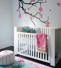 baby nursery decor modern perfect baby girl nursery room ideas wooden component sticker wall decor baby girl furniture ideas