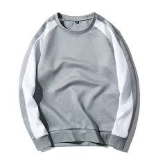 hit color spliced male long sleeve t shirt casual printing mens t shirts o neck autumn comfortable