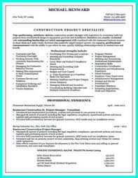 awesome simple construction superintendent resume example to get applied check more at http construction superintendent resume examples