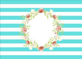 7x5FT <b>бирюзовые полосы</b> персиковые цветы венок Причастие ...