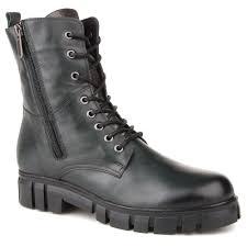 <b>Ботинки</b> женские <b>Sandm</b> 672-8635-045 темно-зеленые