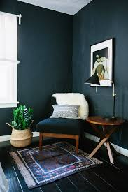 space living room olive: why dark walls work in small spaces